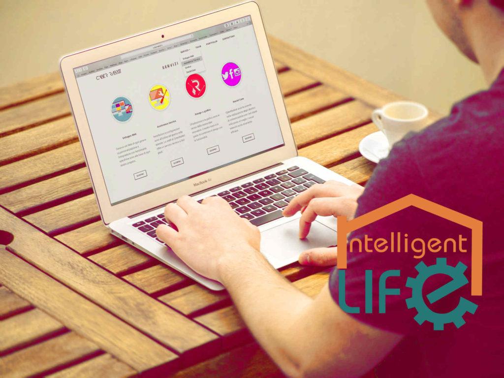 Desarrollo de página web económica Intelligent Life