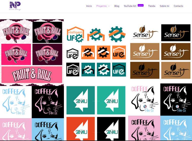 Servicios de Diseño Gráfico Digital del Logotipo con Intelligent Life