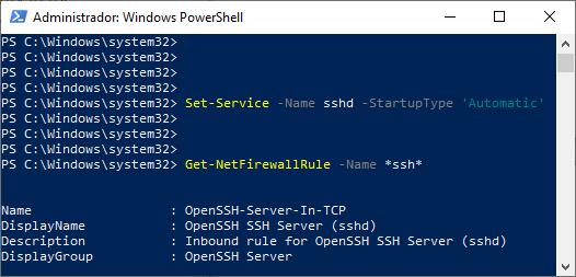 SSH y SCP con Windows 10 Automatizar activación SSH Intelligent Life